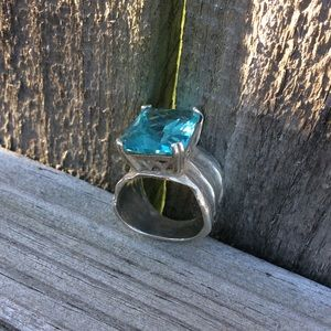 Silpada Aqua Ring
